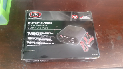 7 stage deep cycle battery charger
