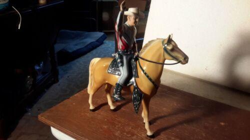 """Hartland  """"ROY ROGERS"""" & TRIGGER w/Saddle/Hat/Pistols Western  Figures Models"""