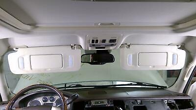 07-14 Cadillac Escalade Platinum Interior Sun Visor Pair (Left/Right) Linin