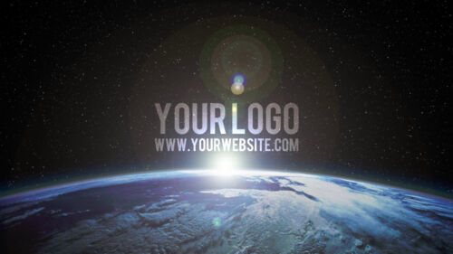I will create a planet earth space SUNRISE video intro