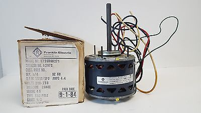Nos Packard Franklin Electric Shade Pole Motor 1050rpm 14hp 82972 8726060271