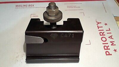 Slightly Used Aloris Ca 71 Partoff Grooving Tool Holder Made In Usa