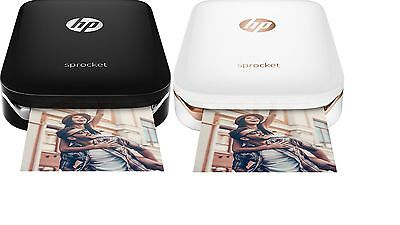 Brand New  Hp   Sprocket 100 Photo Printer Smartphone Printer