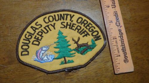 DOUGLAS COUNTY OREGON DEPUTY SHERIFF OFFICE OBSOLETE PATCH BX 10#26