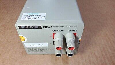 Fluke 742a-1 Resistance Standard 1 Sold W 60 Day Warranty