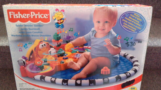 Fisher Price Twirling Whirlin Garden.