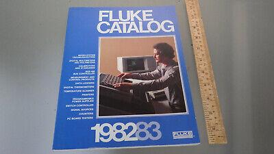 Vtg Original 1982 Fluke Electronics Test Measurement Equipment Catalog 190 Pages