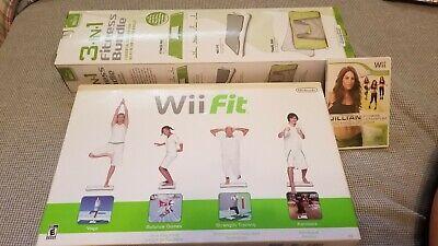 NEW NINTENDO Wii Fit, 3-in-1 Fitness Bundle & Jillian Michaels Ultimatum BUNDLE