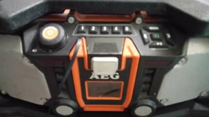 AEG outdoor stereo
