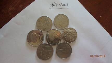 New Zealand 50 cent coin