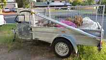Galvanised 7x5 ft trailer with added attachments Ashmore Gold Coast City Preview