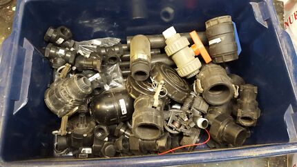 Poly fittings, float, valves, solenoid, tees Huntingdale Gosnells Area Preview