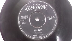 JULIE-LONDON-rare-SINGLE-7-45-RPM-INDIA-INDIAN-79-VG