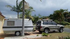 Caravan Toy Hauler $3950