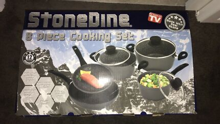 Stonedine cookware set box packed