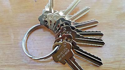 Locksmith Space Depth Keys-weslock-wk2 Keyway Keys Total-cut On Hpc1200