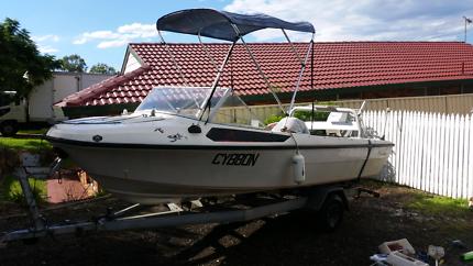 Boat for sale 16 foot bargain for solid ocean boat