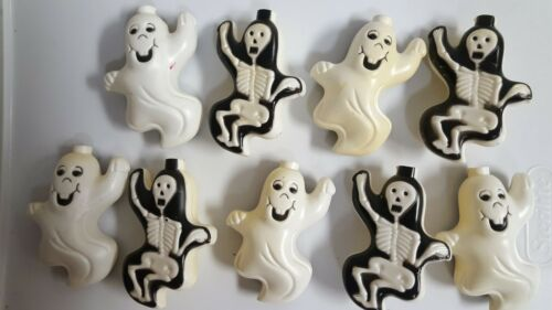 Vintage Ghost Skeleton Double Sided String Light Covers Lot of 9