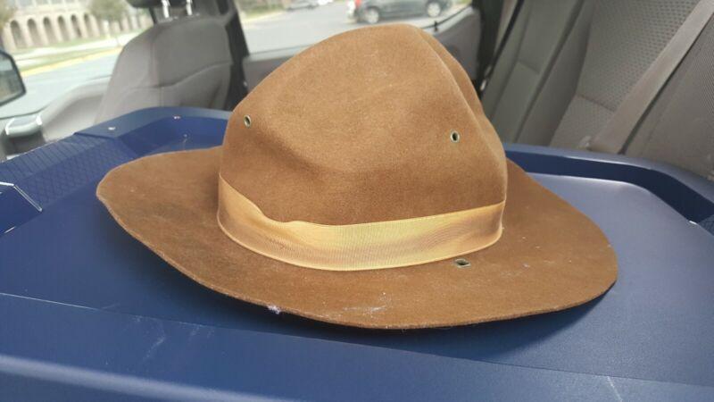 Vintage Campaigner Campaign Hat Boy scout military