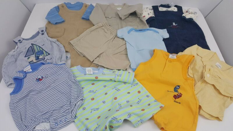 12 Piece Lot Of Baby Boy