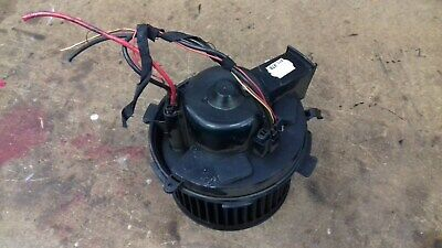PEUGEOT 307 HEATER BLOWER MOTOR FAN AND RESISTOR 180 CC HDI SW CLIMATE CONTROL
