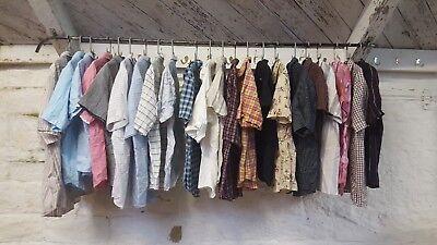 Job Lot Mens Branded Modern Short Sleeve Shirts 22x J191