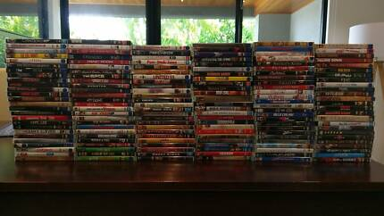 DVDs Assorted (Genuine) $130 The Lot