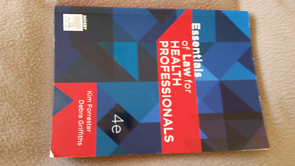 Essentials of Law for Health Professionals 4th Edition