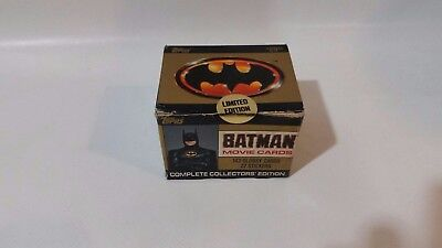 Topps Batman Movie Cards Complete Collectors Limited Edition - Sealed