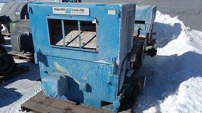 500 Hp Louis Allis Electric Motor 3600 Rpm 7110cs Frame Wpii 4000v