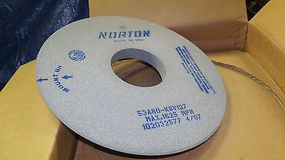 "Norton Surface grinding wheel 20"" x 1-1/2"" x 6"" arbor hole 53A80-K6V127 New"