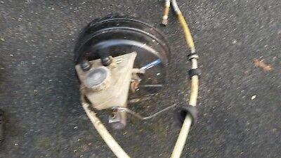W126 brake servo with master cylinder and brake booster
