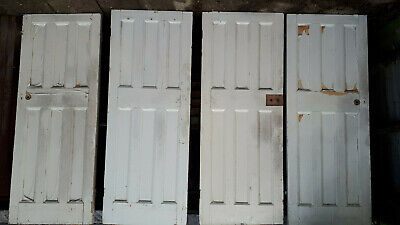 Reclaimed wooden doors