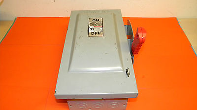Siemens Hf221n Heavy Duty Safety Switch 30amp 240volt Ac 250volt Dc