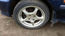 Mag Wheels 15 Inch 4x100 Honda Nissan Mitsubishi Laser Astra Burton Salisbury Area Preview