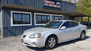 2004 Pontiac GRAND PRIX GT LOW KMS! SAFETIED ETESTED ONLY  $2499