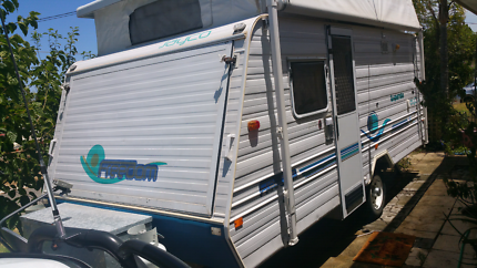 JAYCO EXPANDA 2004 FAMILY VAN 16FT WITH HOT WATER STSTEM GOOD CON