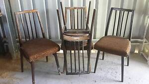 Wooden chairs Bullsbrook Swan Area Preview