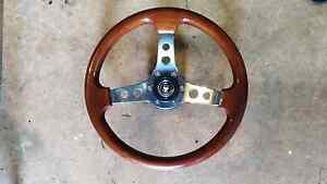 Wooden steering wheel Burnie Burnie Area Preview