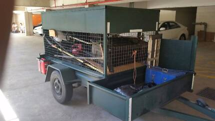 Enclosed Trailer - For Lawn Mowing