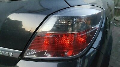 2008 VAUXHALL ASTRA DESIGN 3DR OSR REAR BACK RIGHT STOP TAIL LIGHT LAMP COMPLETE