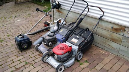 2 X lawn mowers 3 x blowers 1 x wiper sniper 1 x generator Montrose Yarra Ranges Preview