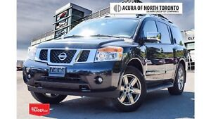 2010 Nissan Armada Platinum Ed. at Accident Free| Running Board|