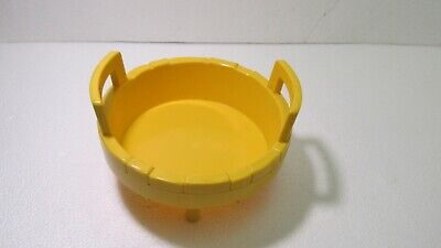 Fisher Price 3 Men In A Tub Top Part Only t4238