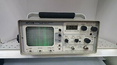 Avcom Psa-37d Portable Spectrum Analyzer 1 Mhz To 4.2 Ghz