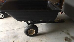 Ariens lawn tractor with trailer