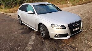 AUDI A4 8K S LINE STATION WAGON Fishing Point Lake Macquarie Area Preview