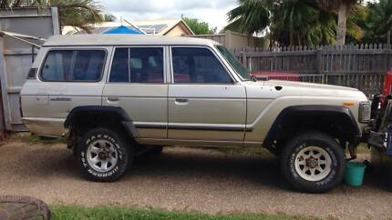 Toyota Landcruiser HJ 61 VX Sahara 1990 Mount Louisa Townsville City Preview