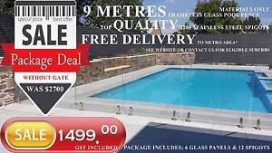 Glass pool fence SALE - Package Deal (Limited time) Adelaide ONLY Holden Hill Tea Tree Gully Area Preview