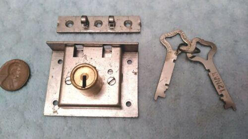 Chest Lock Box Cylinder Eagle NOS